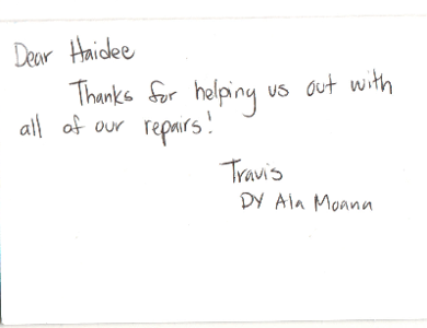 Jewelry repair Testimonial from our customers